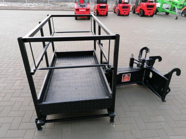 Dieci tõstekorv, hüdrauliliselt pöörav 2150x1200mm