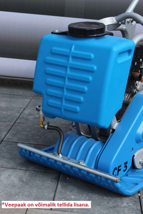 108kg CF 3 diisel Weber plaatvibraator