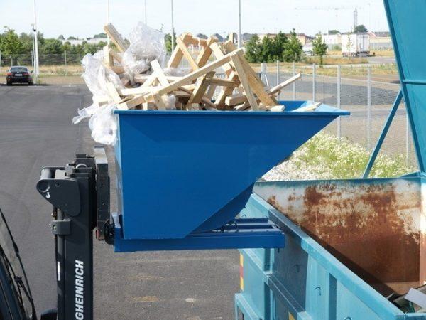 TIPPO 150L isekallutav konteiner