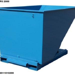 Tippo 1700L isekallutav konteiner