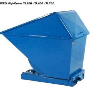 Tippo 130L isekallutav konteiner