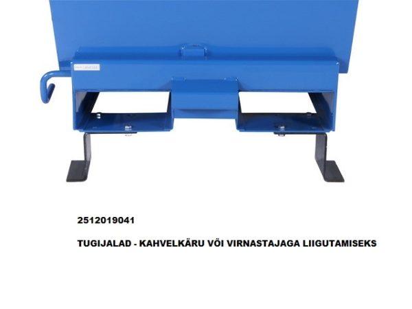Tippo 1030L isekallutav konteiner