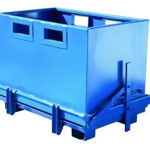 Avatava põhjaga konteiner 700L