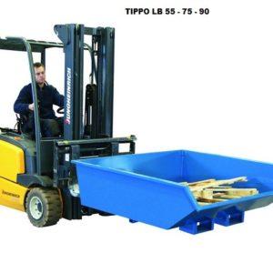 Tippo 550L isekallutav konteiner