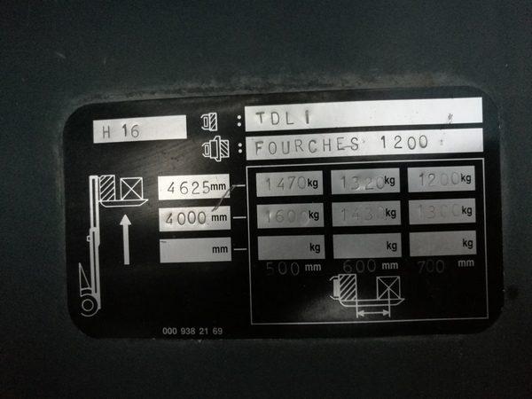 LINDE H16D - 391