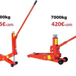 Tungraud HFJ 4000kg / 7000kg