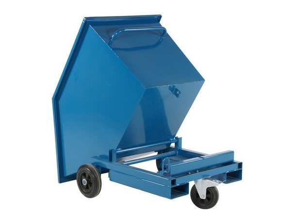 Ratastel kallutav konteiner 300L