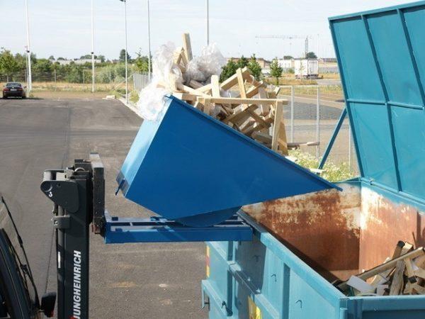 Tippo konteiner 320L roostevabast terasest