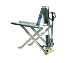 PL1000 1150x540mm käärkahvelkäru roostevaba