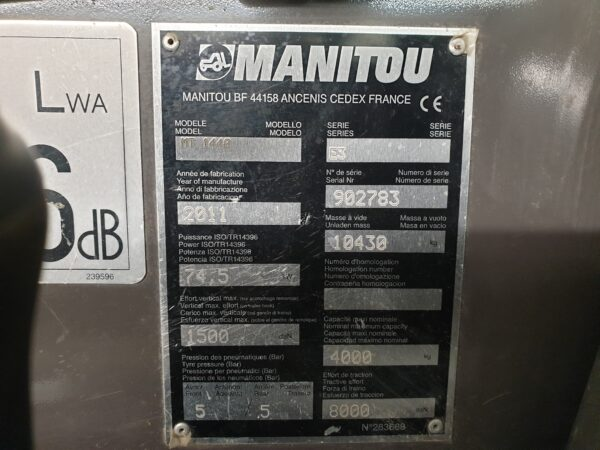 Manitou MT1440